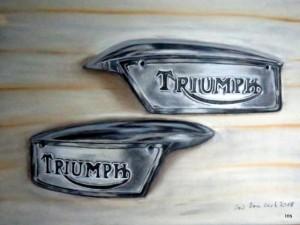 Triumph Tankembleme